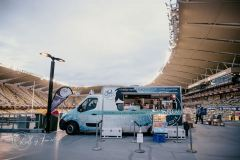 The Feel Good Foodie Truck at Football Game